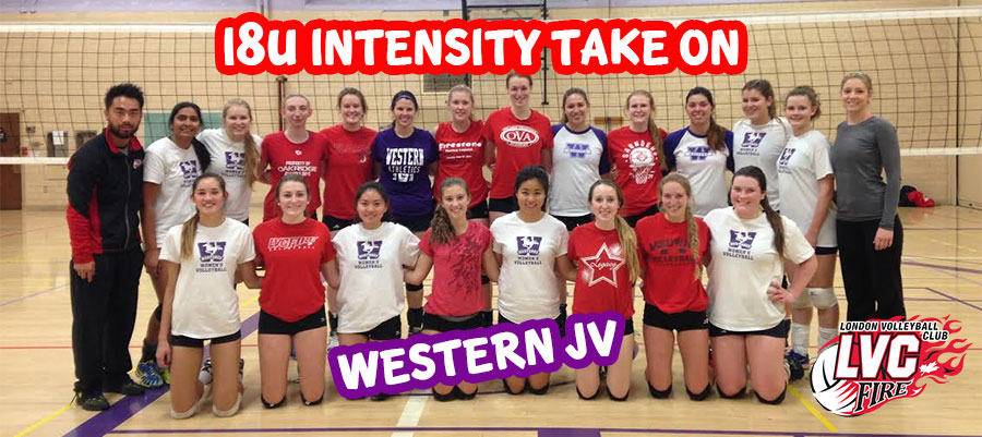 18u Intensity take on Western JV!