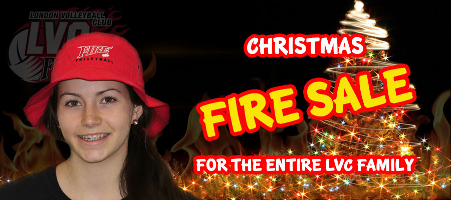 Christmas Fire Sale!